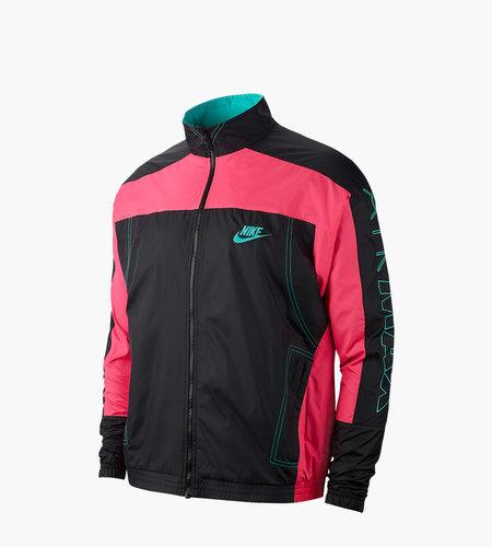 Nike Nike X ATMOS NRG Vintage Patchwork Track Jacket Black Hyper Pink Hyper Jade