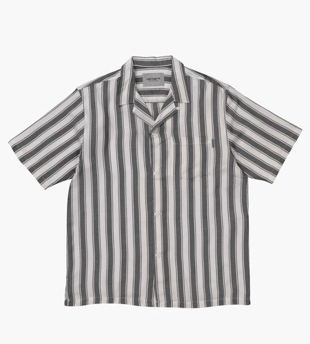 Carhartt Carhartt S/S Esper Shirt Esper Stripe Black Wax