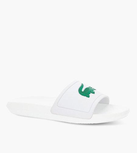 Lacoste Live Lacoste Croco Slide White Green