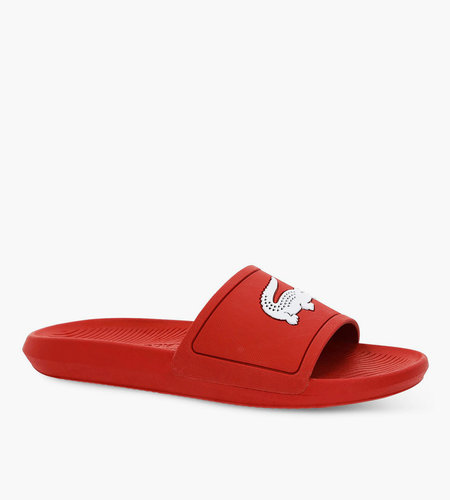 Lacoste Live Lacoste Croco Slide Red White