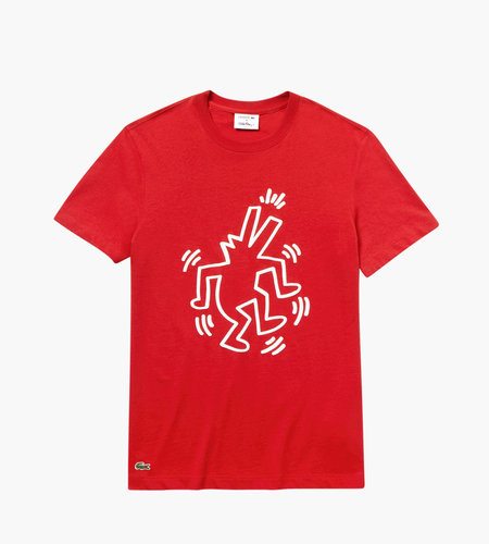 Lacoste Live Lacoste X Keith Haring Men's Tee-Shirt ADX Salvia