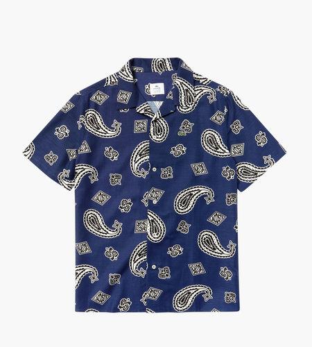 Lacoste Live Lacoste Men's S/S Woven Shirt Methylene Multico