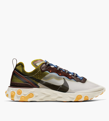 Nike Nike React Element 87 Moss Black El Dorado Deep Royal Blue