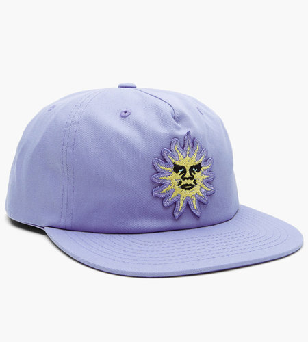 Obey Obey Rising Sun Snapback Lavender