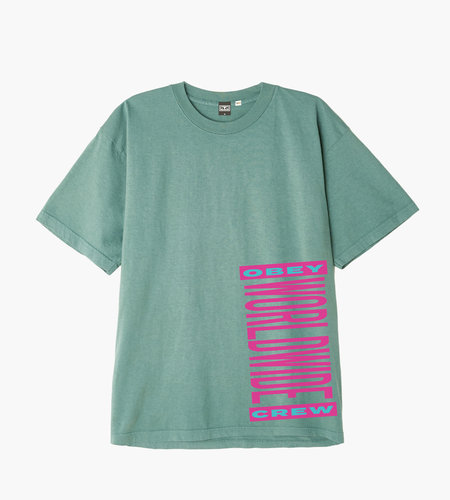 Obey Obey Worldwide Crew Atlantic Green