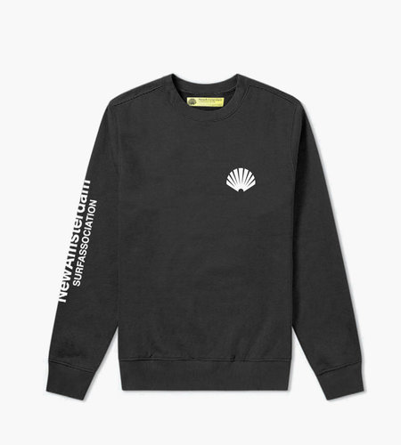 New Amsterdam New Amsterdam Logo Sweat Black