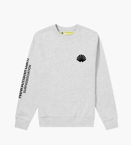 New Amsterdam New Amsterdam Logo Sweat Ash Heather Grey