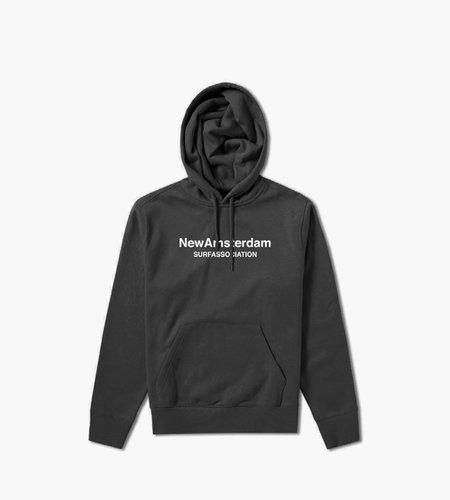 New Amsterdam New Amsterdam Logo Hoodie Black