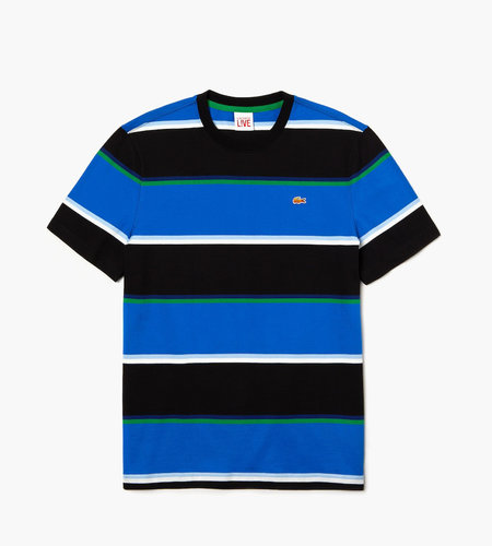 Lacoste Live Lacoste X Opening Ceremony Men's Tee-shirt Black Multico
