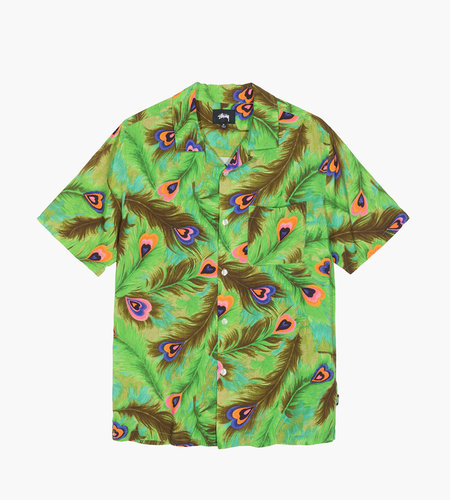 Stussy Stussy Peacock Shirt Green