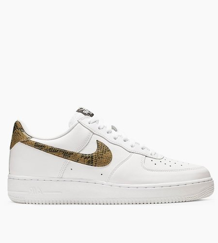 Nike Nike Air Force 1 Low Retro PRM QS White Elemental Gold Dark Hazel Black