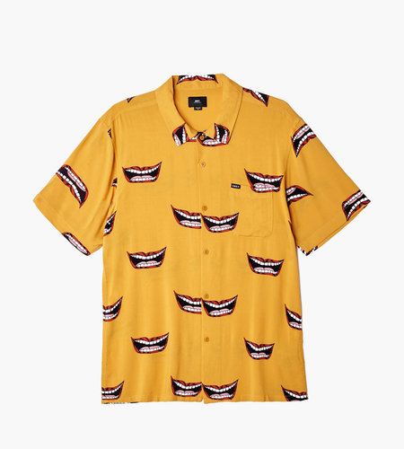 Obey Obey Lips Woven Mineral Yellow Multi