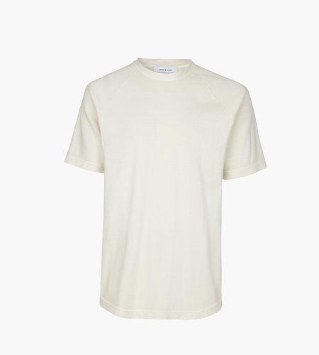 Samsoe & Samsoe Samsoe Samsoe Billund T-Shirt 10965 White Asparagu