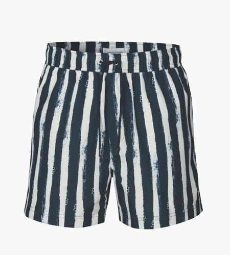 Samsoe Samsoe Mason Swim Shorts AOP 6956 Blue Stroke