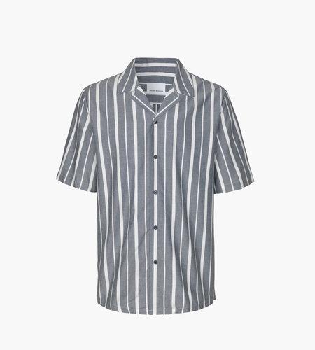 Samsoe & Samsoe Samsoe Samsoe Oscar AX Shirt 10923 Dark Sapphire