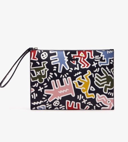 Lacoste Live Lacoste Live X Keith Haring Print Zip Pouch