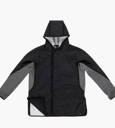 Byborre Byborre A-Jacket Hooded Jacket HG5 Black