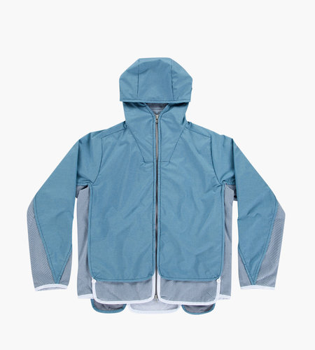 Byborre Byborre S-Hybrid Hooded Jacket HG-6 Dusty Blue Blue Gore