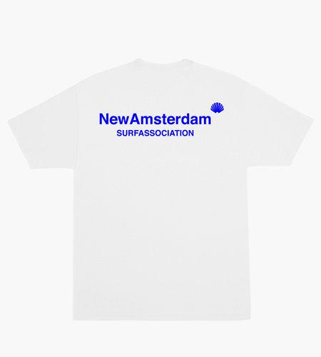 New Amsterdam New Amsterdam Logo T-shirt White