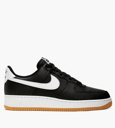 Nike Nike Air Force 1 ' 07 Black White Wolf Grey Gum Med Brown