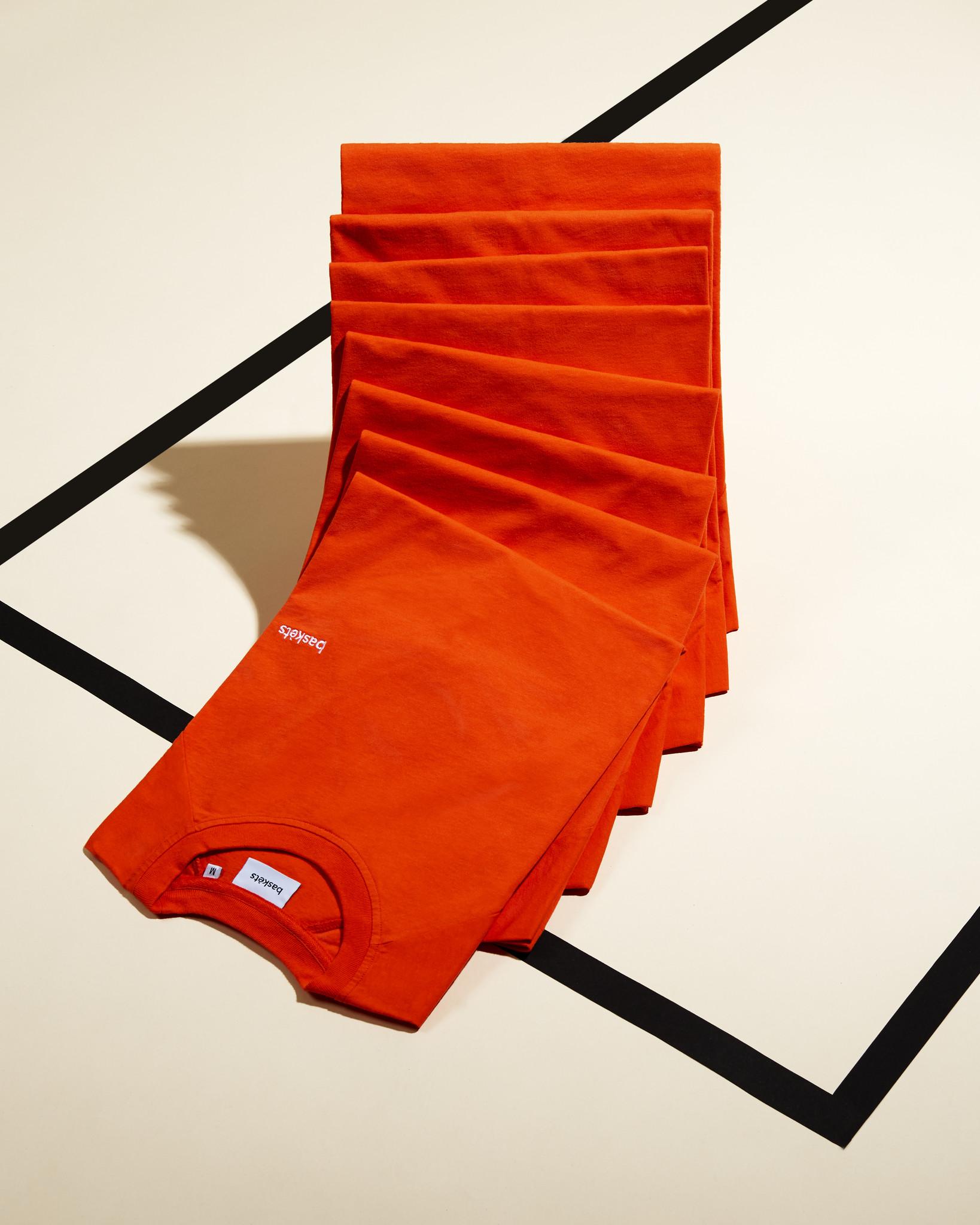 Baskèts Ss19 Premium Raglan Tee Fiery Orange