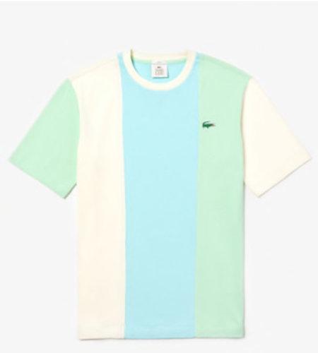 Lacoste Live Lacoste x Golf Le Fleur Short Sleeve Tee Blue