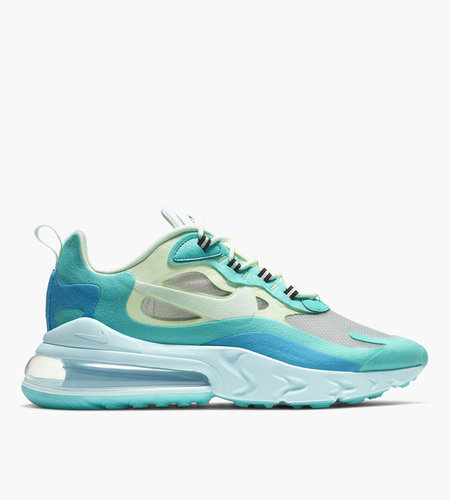 Nike Nike Air Max 270 React Hyper Jade Barely Volt Blue Lagoon Frosted Spruce