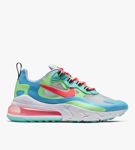 Nike Nike W Air Max 270 React Electro Green Blue Lagoon Hyper Jade Flash Crimson