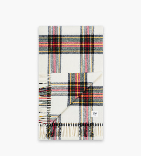 Wood Wood Wood Wood Karlo Scarf Off White Check