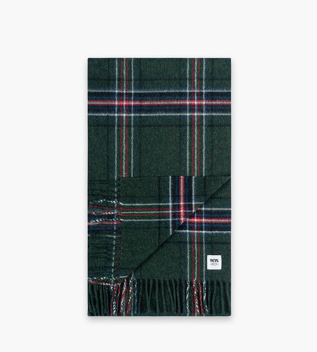 Wood Wood Wood Wood Karlo Scarf Green Check