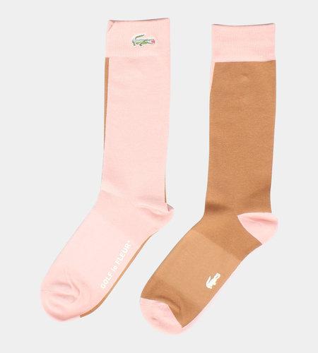 Lacoste Live Lacoste x Golf Le Fleur Socks Pink