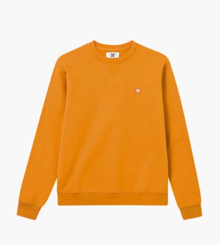 Wood Wood Wood Wood Tye Sweatshirt Orange