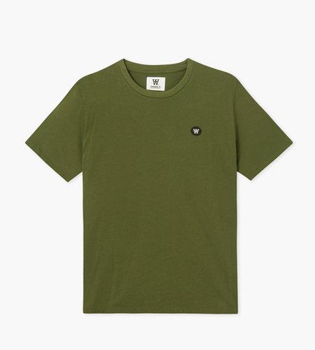 Wood Wood Wood Wood Ace T-Shirt Army Green