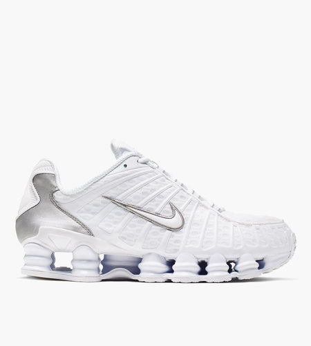 Nike Nike Shox TL White White Metallic Silver