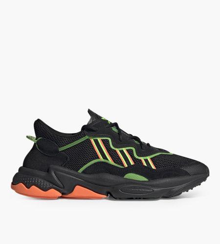 Adidas Adidas Ozweego Core Black Solar Green Hi-Res Coral