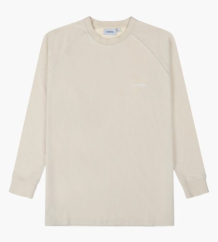 Baskèts Baskèts AW19 Heavy Cotton Long Sleeve Off White