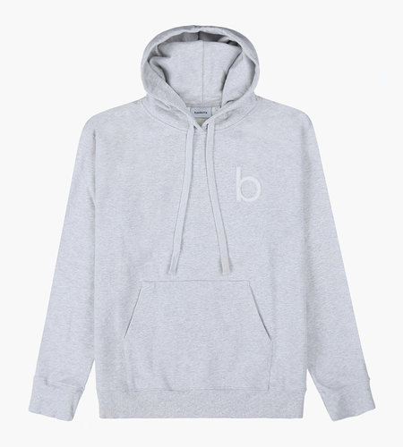 Baskèts Baskèts AW19 Heavy Cotton Hoodie Teddy Ash Grey