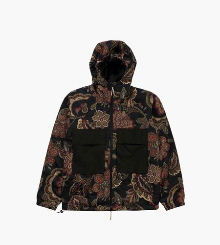 Native North Native North Orchid Jacquard Hood Jacket Navy Floral
