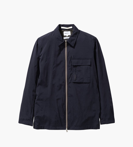 Norse Projects Norse Projects Jens Zip Dry Nylon Dark Navy