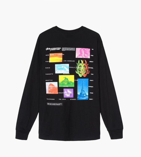 Stussy Stussy Great Future LS Tee Black