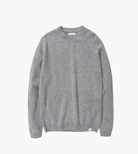 Norse Projects Norse Projects Sigfred Lambswool Light Grey Melange
