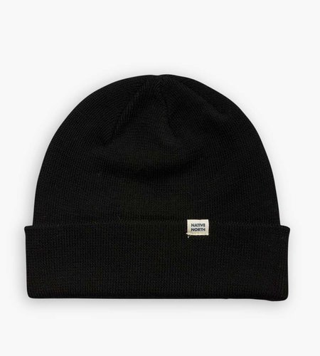 Native North Native North Wool Melange Beanie Black
