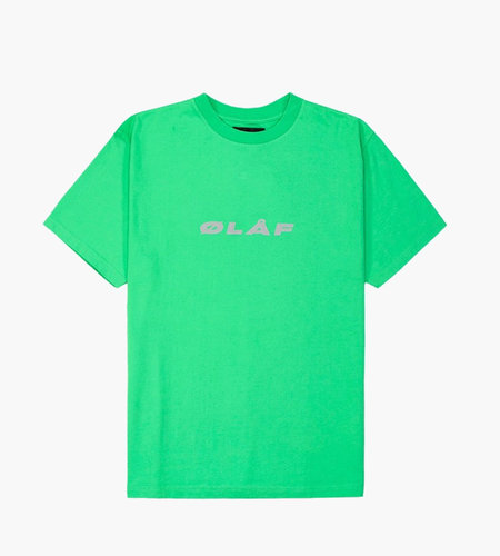 Olaf Hussein Olaf Hussein ØLÅF Reflective Italic T Green