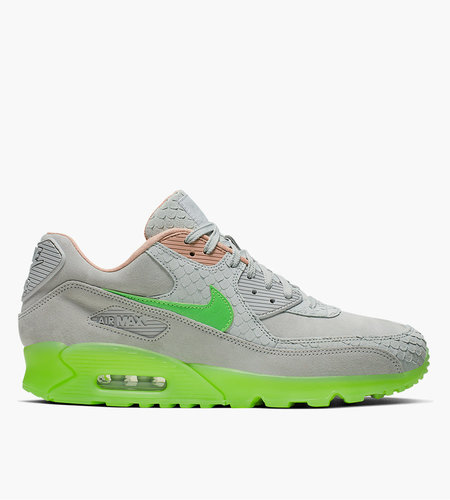 Nike Nike Air Max 90 Premium Pure Platinum Electric Green