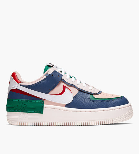 Nike Nike W AF1 Shadow Mystic Navy White Pink Gym Red