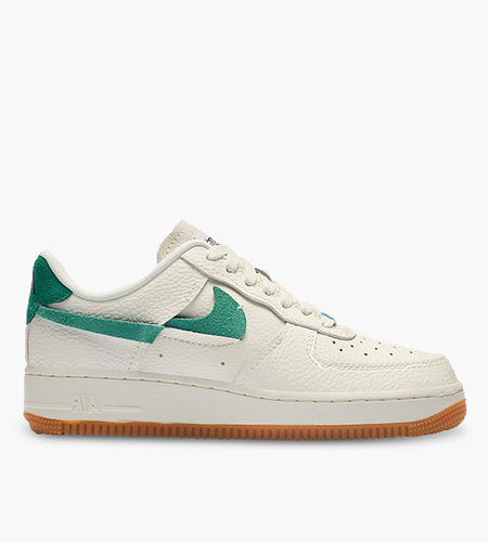 Nike WMNS AIR FORCE 1 '07 LXX Sail Mystic Green Light Blue