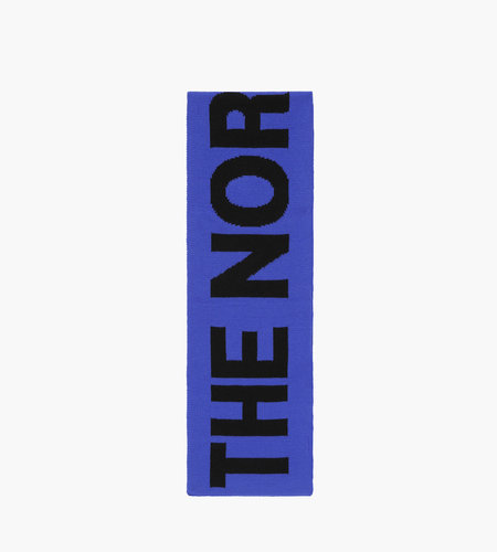 The North Face The North Face Logo Scarf Blue Black