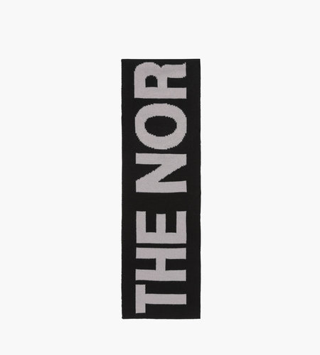 The North Face The North Face Logo Scarf Medium Grey Heather Black