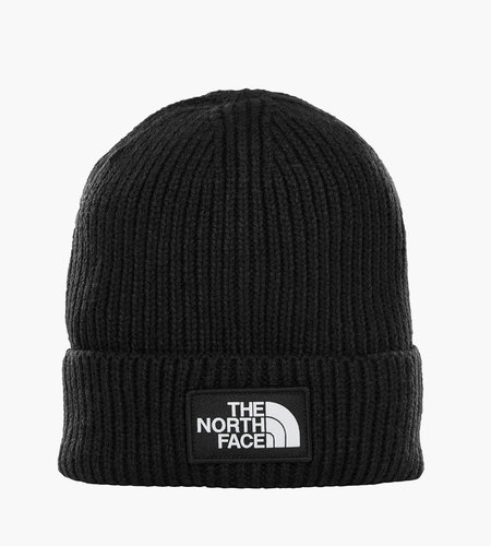 The North Face The North Face Logo Box Cuf Beanie Black