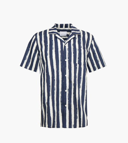 Samsoe Samsoe Einar SA Shirt AOP 8015 Blue Stroke